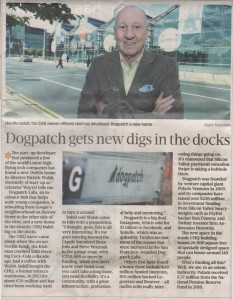 150215 SBP - Dogpatch gets new digs in the docks