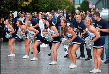 Penn State University Cheerleaders