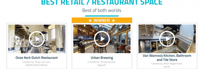 Urban Brewing – Winner at the Matty Awards 2018!