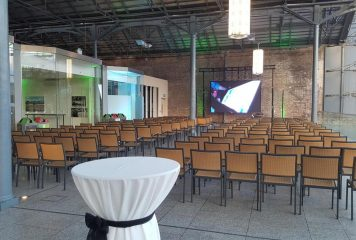 Galleria Event Set-up