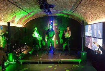 Irish Dancers performing at EPIC Event