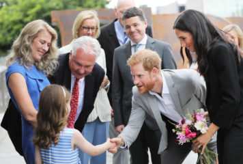 CHQ Welcomes the Duke and Duchess of Sussex!
