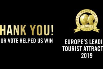 Epic Wins Europe's Leading Tourist Attraction!