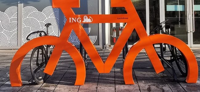 There's a new bike stand at CHQ!